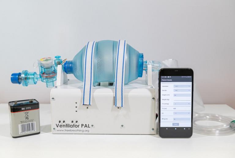 VentilatorPAL is een oplossing voor het acute gebrek aan ademhalingstoestellen voor het snel groeiende aantal COVID-19-patiënten wereldwijd
