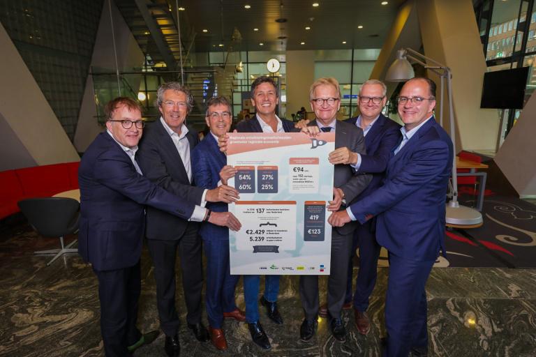 Persfoto 1 - Regionale ontwikkelingsmaatschappijen presenteren resultaten 2018 aan Hans de Boer en Jacco Vonhof.jpeg
